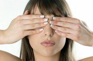Akių atpalaidavimas (palmingas)